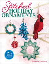 Omslag - Stitched Holiday Ornaments