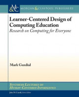 Omslag - Learner-Centered Design of Computing Education