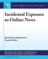 Omslag - Incidental Exposure to Online News