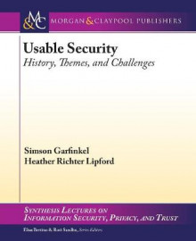 Usable Security av Simson Garfinkel og Heather Richter Lipford (Heftet)