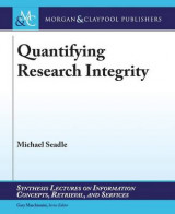 Omslag - Quantifying Research Integrity