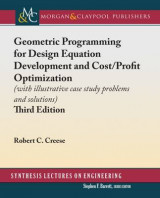 Omslag - Geometric Programming for Design Equation Development and Cost/Profit Optimization
