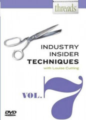 Threads Industry Insider Techniques, Vol. 7 av Louise Cutting (DVD)