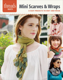 Mini Scarves & Wraps av Jean Moss (Heftet)