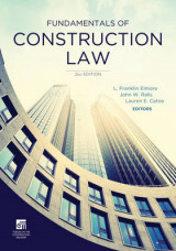 Omslag - Fundamentals of Construction Law