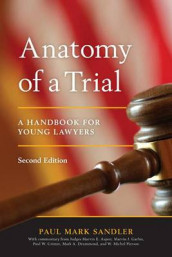 Anatomy of a Trial av Paul Mark Sandler (Heftet)