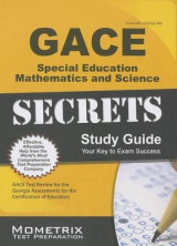 Omslag - GACE Special Education: Mathematics and Science Secrets Study Guide