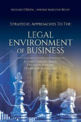 Omslag - Strategic Approaches to the Legal Environment of Business