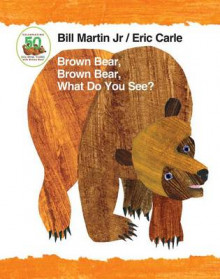 Brown Bear, Brown Bear, What Do You See? 50th Anniversary Edition Padded Board Book av Bill Martin (Pappbok)