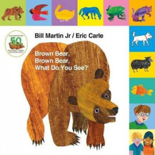 Lift-The-Tab: Brown Bear, Brown Bear, What Do You See? 50th Anniversary Edition av Bill Martin (Pappbok)