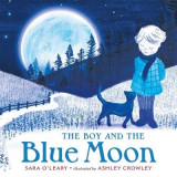 Omslag - The Boy and the Blue Moon