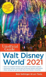 Omslag - The Unofficial Guide to Walt Disney World 2021