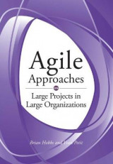 Omslag - Agile Approaches on Large Projects in Large Organizations