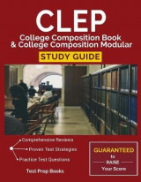 Omslag - CLEP College Composition Book & College Composition Modular Study Guide