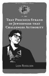 Omslag - That Precious Strand of Jewishness That Challenges Authority