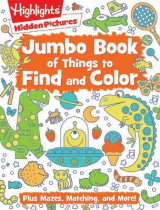 Omslag - Jumbo Book of Things to Find and Color