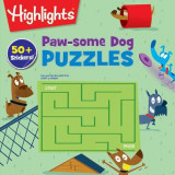 Omslag - Paw-some Dog Puzzles
