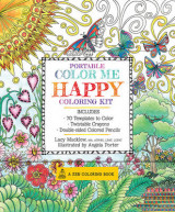 Omslag - Portable Color Me Happy Coloring Kit