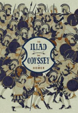 Omslag - The Iliad and the Odyssey