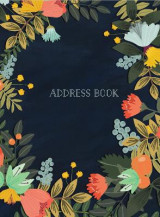Omslag - Address Book - Modern Floral Large