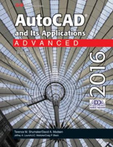 Omslag - AutoCAD and Its Applications Advanced 2016