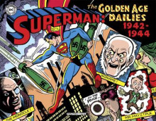 Superman The Golden Age Newspaper Dailies 1942-1944 av Whitney Ellsworth og Jerry Siegel (Innbundet)