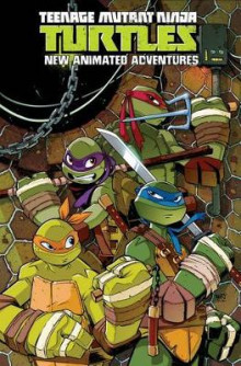 Teenage Mutant Ninja Turtles: New Animated Adventures Omnibus Volume 1 av Landry Walker, Scott Tipton, Kenny Byerly, Erik Burnham, Brian Smith, David Server, Cullen Bunn, Derek Fridolfs og David Tipton (Heftet)