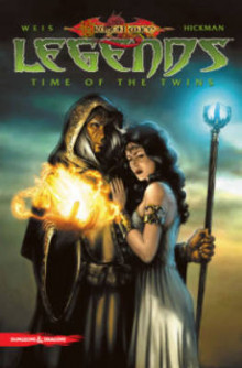 Dragonlance Legends: Time of the Twins av Tracy Hickman, Andrew Dabb og Margaret Weis (Heftet)