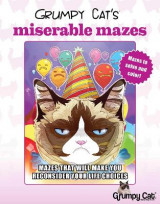 Omslag - Grumpy Cat's Miserable Mazes