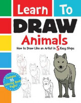 Omslag - Learn to Draw Animals