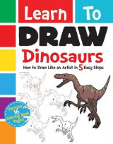 Omslag - Learn to Draw Dinosaurs