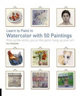 Omslag - Learn to Paint in Watercolor with 50 Paintings