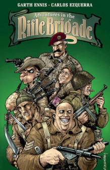 Adventures in the Rifle Brigade av Garth Ennis (Heftet)