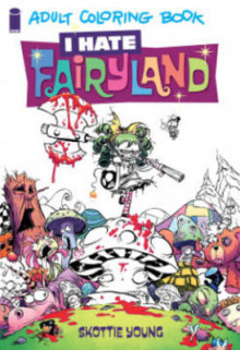 I Hate Fairyland: Adult Coloring Book av Skottie Young (Heftet)