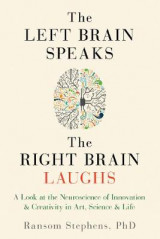 Omslag - The Left Brain Speaks, the Right Brain Laughs