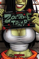 Omslag - Zombie Tramp: Skanks, Shanks and Shackles Volume 9