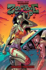 Omslag - Zombie Tramp Volume 13: Back to the Brothel