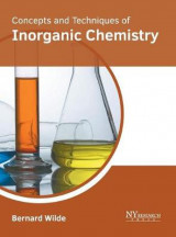 Omslag - Concepts and Techniques of Inorganic Chemistry