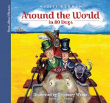 Omslag - Read-Aloud Classics: Around the World in 80 Days