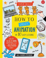 Omslag - How to Create Animation in 10 Easy Lessons