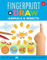 Omslag - Fingerprint & Draw: Animals & Insects