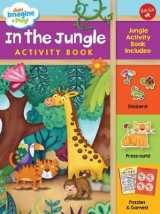 Omslag - Just Imagine & Play! In the Jungle Activity Book