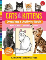 Omslag - Cats & Kittens Drawing & Activity Book