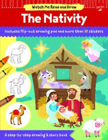 Watch Me Read and Draw: The Nativity av Walter Foster Jr. Creative Team (Heftet)