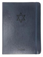 THE STAR OF DAVID ESSENTIAL JOURNAL (NAVY LEATHERLUXE?) av Ellie Claire (Heftet)