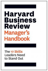 Omslag - The Harvard Business Review Manager's Handbook