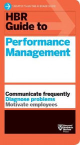 Omslag - HBR Guide to Performance Management (HBR Guide Series)