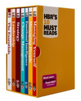 Omslag - HBR's 10 Must Reads Boxed Set with Bonus Emotional Intelligence (7 Books) (HBR's 10 Must Reads)
