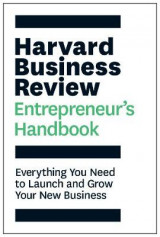Omslag - The Harvard Business Review Entrepreneur's Handbook