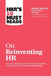 "HBR's 10 Must Reads on Reinventing HR (with bonus article ""People Before Strategy"" by Ram Charan, Dominic Barton, and Dennis Carey) av Marcus Buckingham, Peter Cappelli, Ram Charan, Reid Hoffman og Harvard Business Review (Innbundet)"